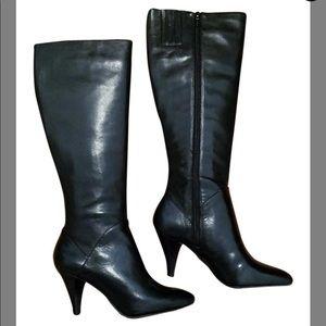 Franco Sarto Black Advent Boots